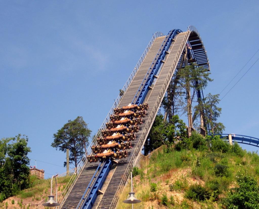 tennessee craziest amusement park rides