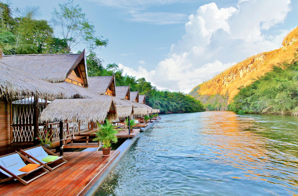 The Float House River Kwai Resort Thailand Floating Hotels