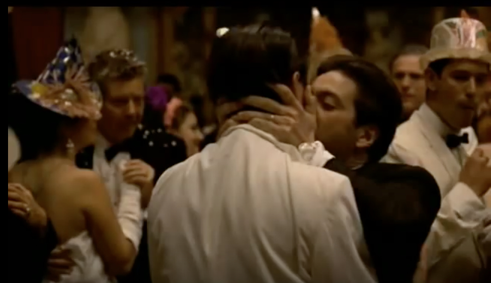 The Godfather Part II Kiss of Death Iconic Kisses