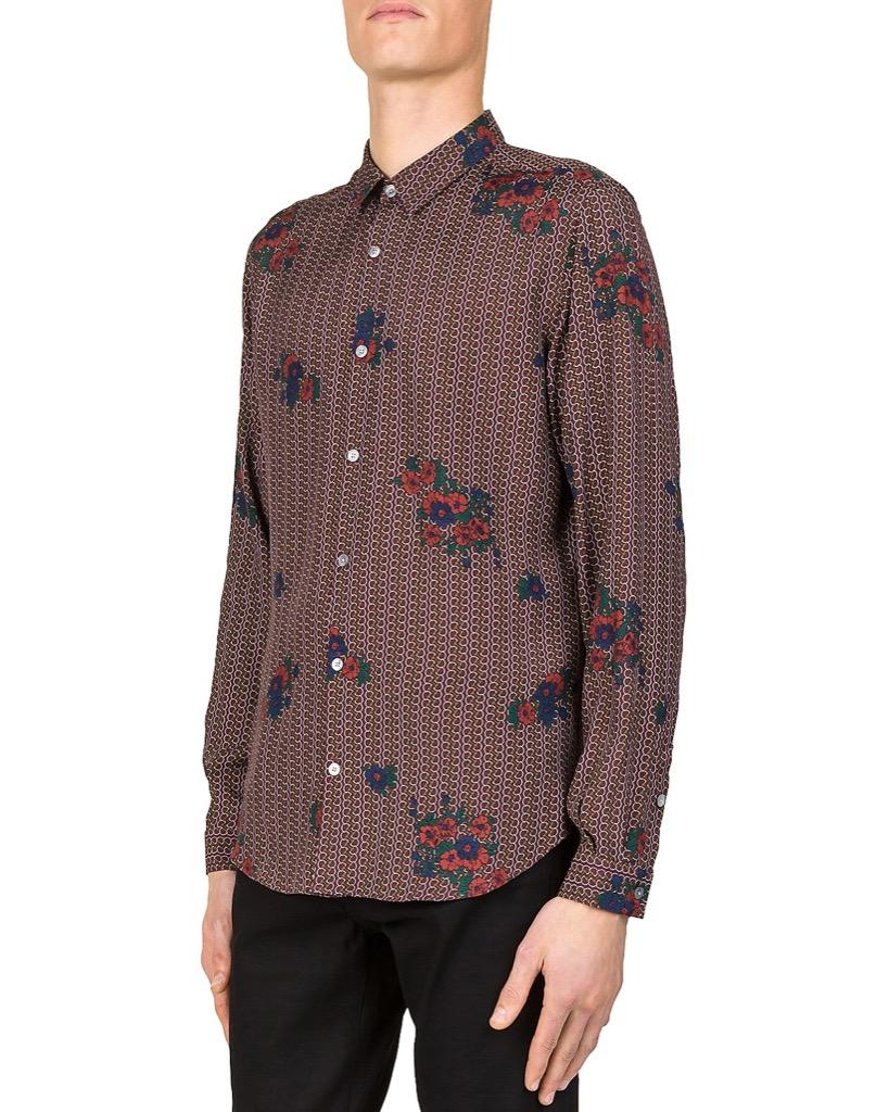 the kooples floral shirt