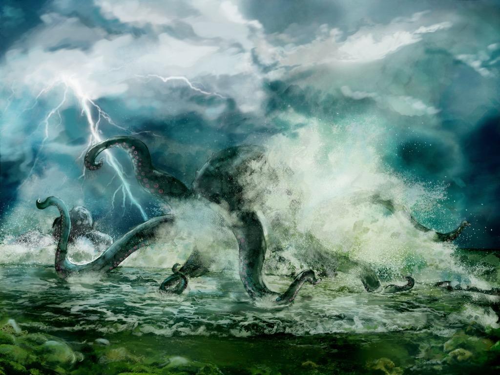 the kraken murdered everything