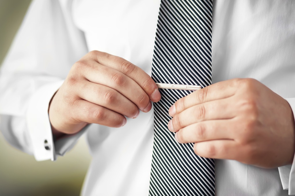 tie clip guy