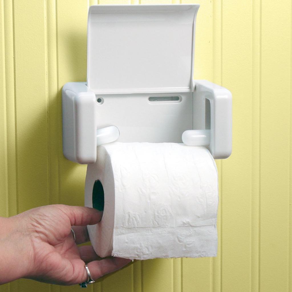 EZ Load Toilet Paper Holder