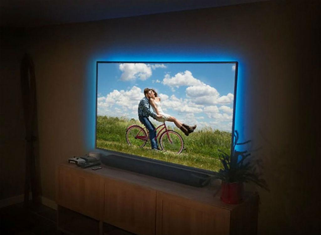 TV bias lighting at Best Buy corny jokes