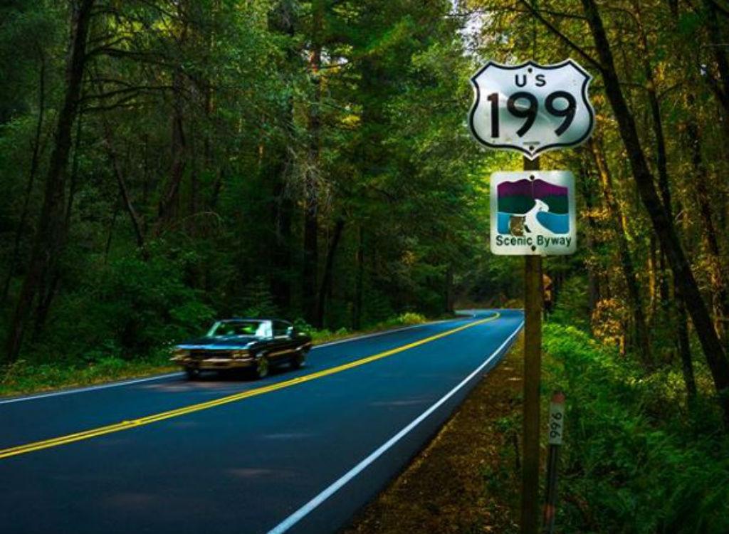 US 199 dangerous highways