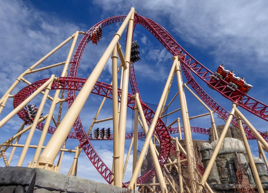 utah craziest amusement park rides