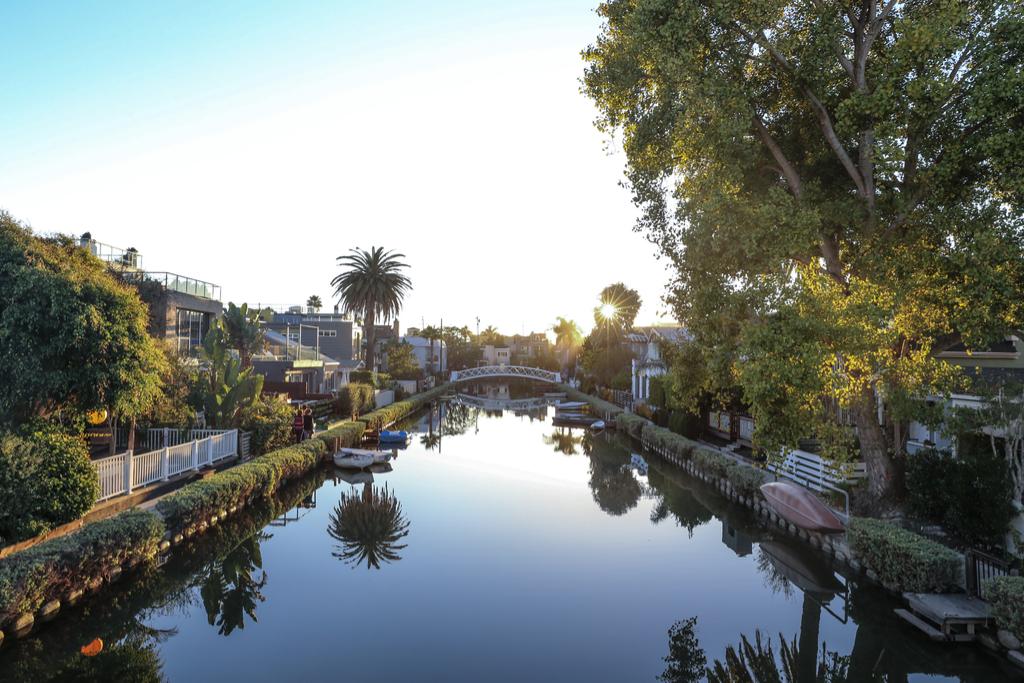 Venice California European-Inspired Small Towns in America