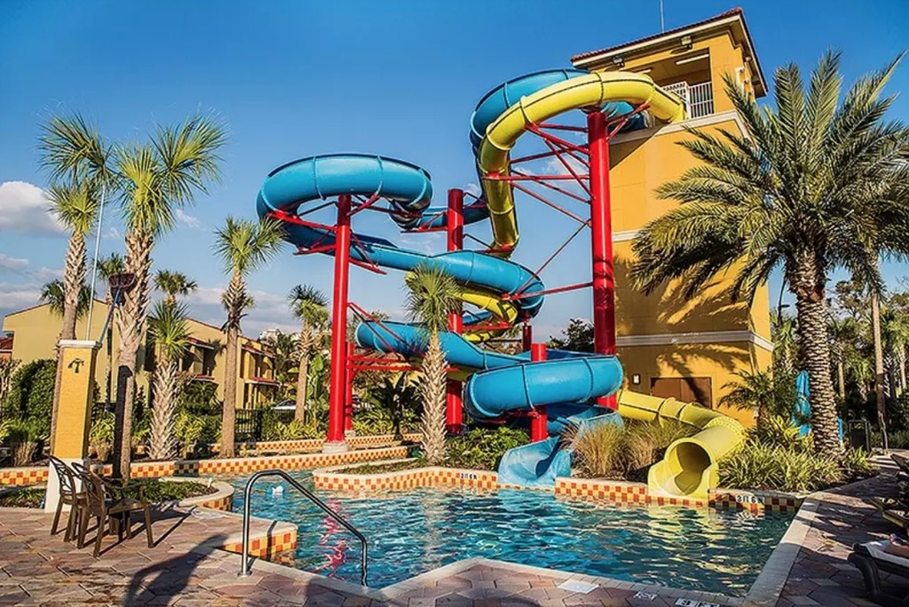 AirBNB private water park