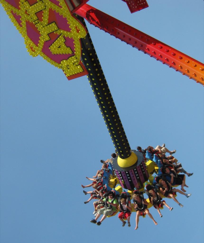 west virginia craziest amusement park rides
