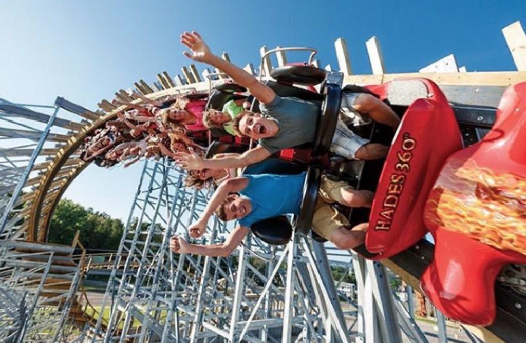wisconsin craziest amusement park rides