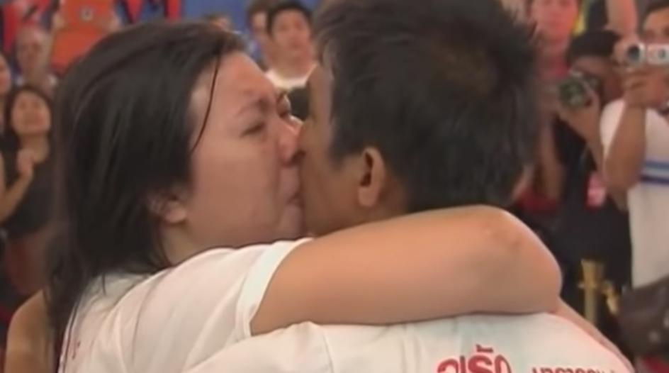 World's Longest Kiss