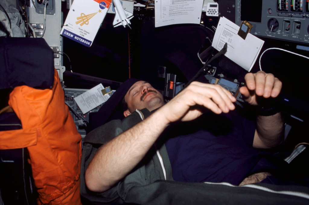 astronaut snore