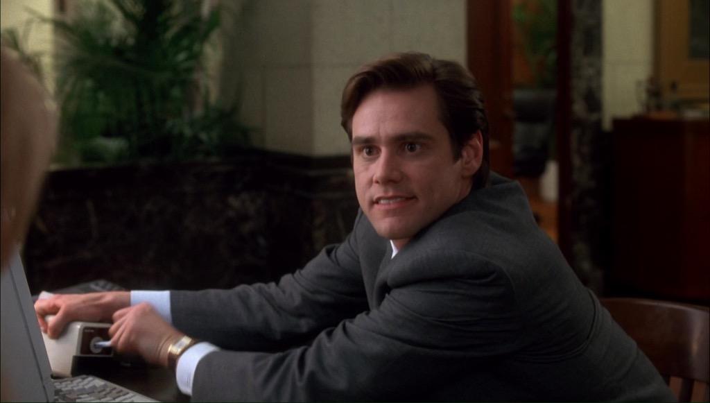 """pencil sharpener in Jim Carrey's """"The Mask."""""""