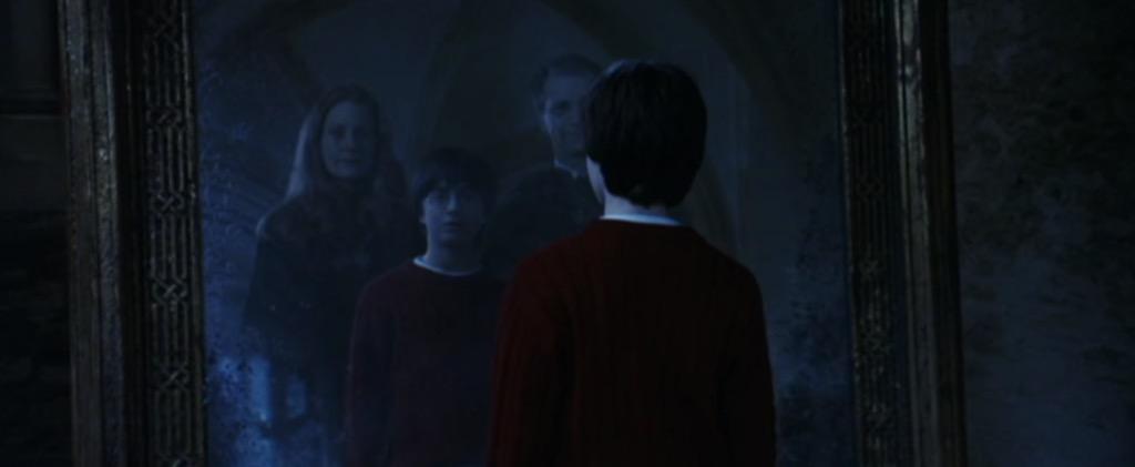 Mirror of Erised, harry potter