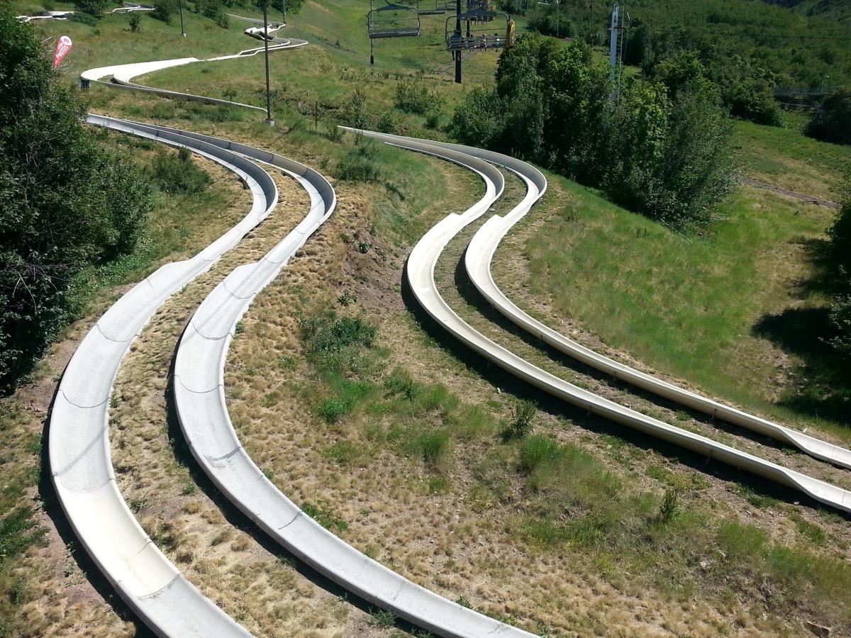 attitash mountain resort alpine slides