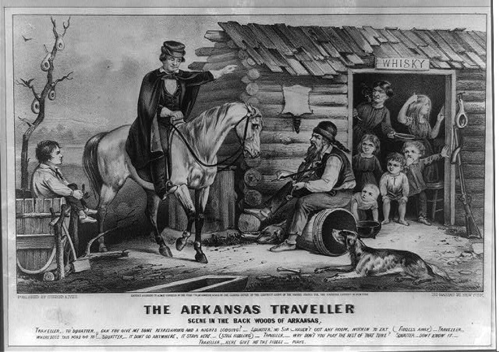 arkansas traveller the biggest folk hero every state