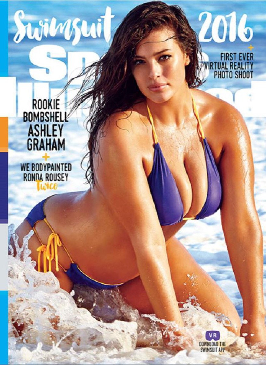 ashley graham sports illustrated cover bikinis