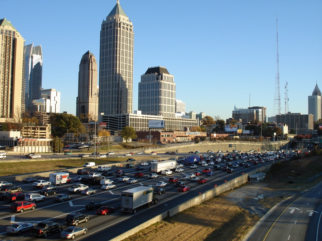 atlanta ga worst cities to drive in