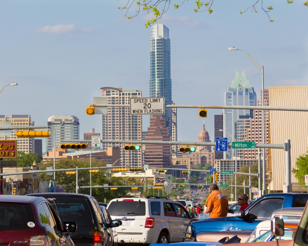 austin tx worst cities to drive in