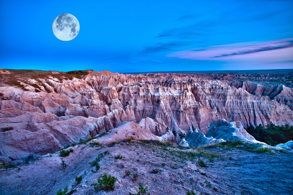 Badlands National Park South Dakota Surreal Places in the U.S.