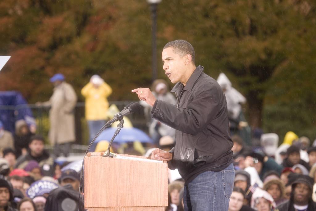 Barack Obama dad jeans