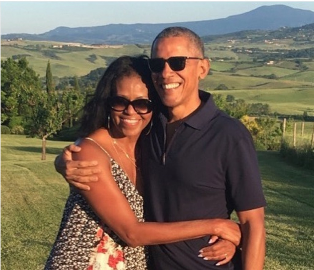 Barack Obama Michelle Obama Valentine's 2018