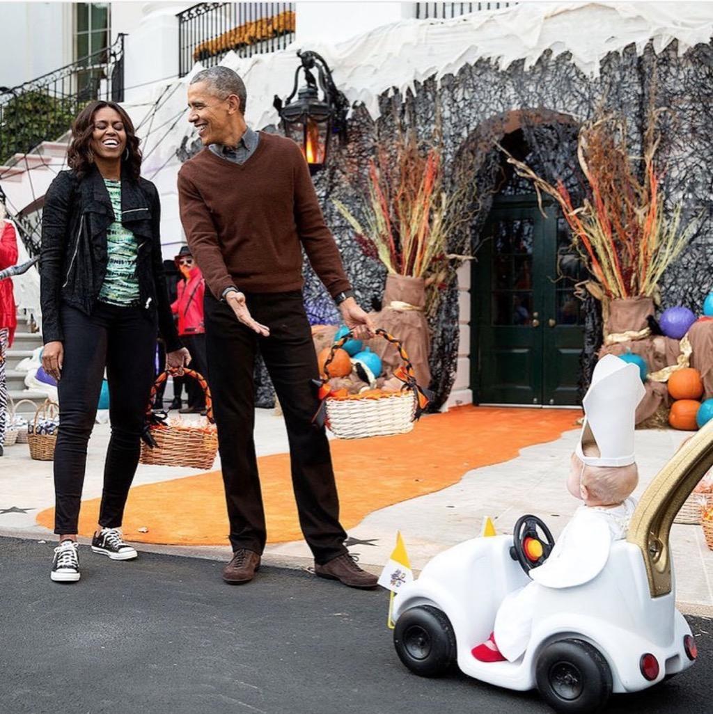 Barack Obama baby Pope