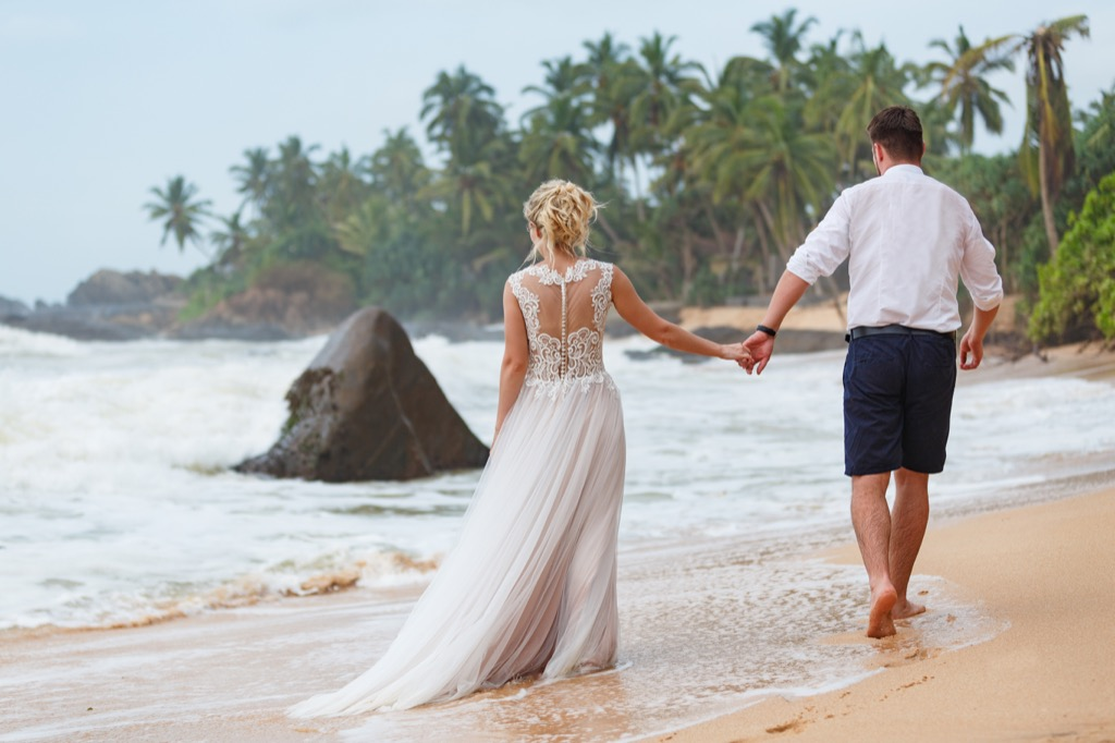 beach wedding This Is the Age Most People Get Married in Every U.S. State