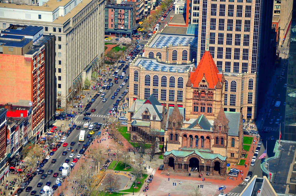 boston ma worst cities to drive in