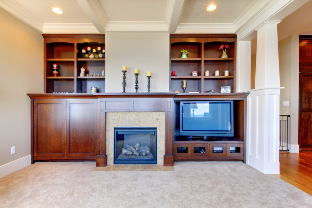 entertainment center outdated home design
