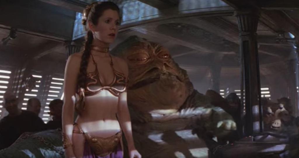 Carrie Fisher Star Wars Bikinis