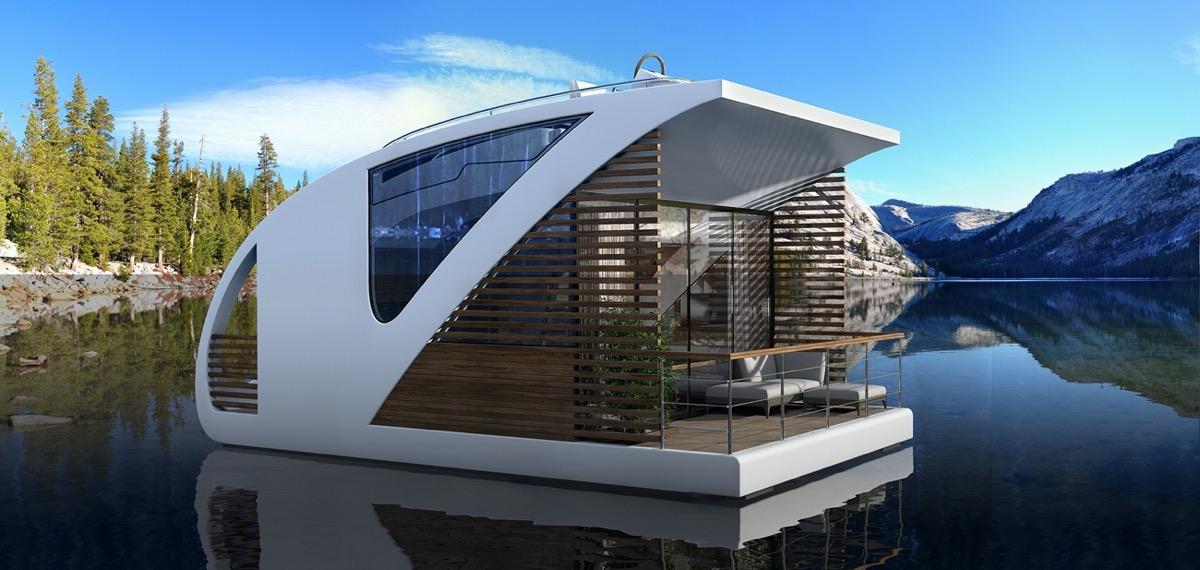 floating hotel catamaran apartments