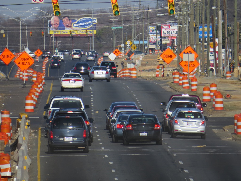 charlotte nc worst cities to drive in