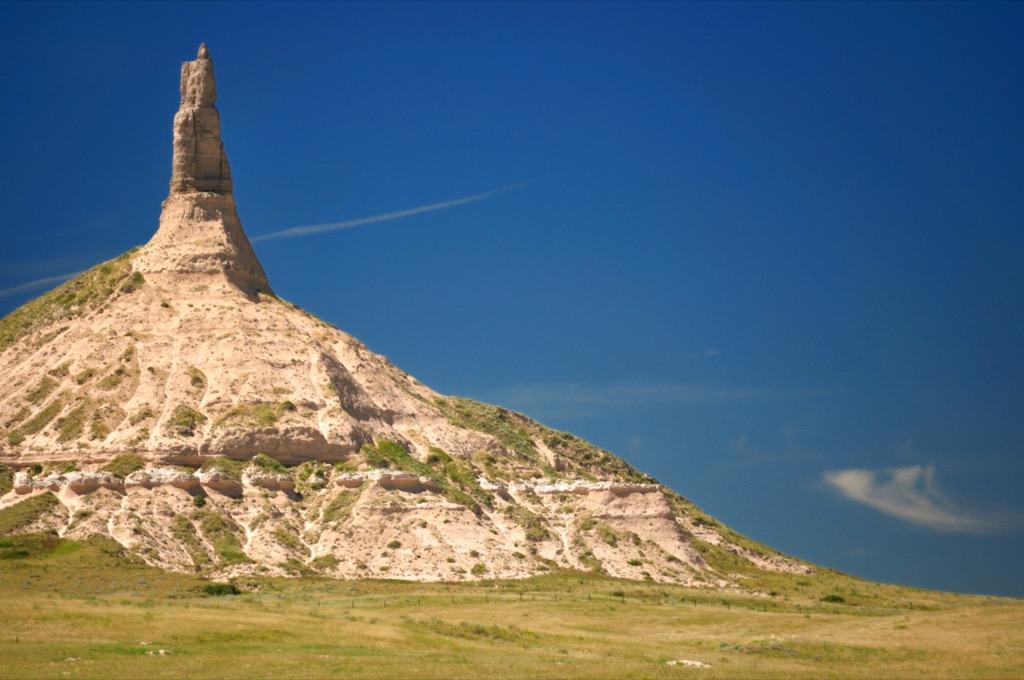 chimney rock nebraska most historic location every state