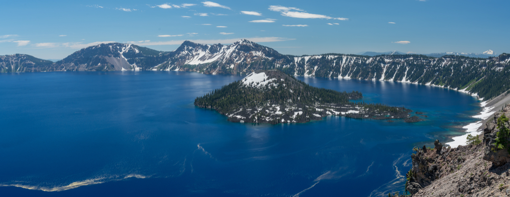 Crater Lake Oregon Surreal Places in the U.S.