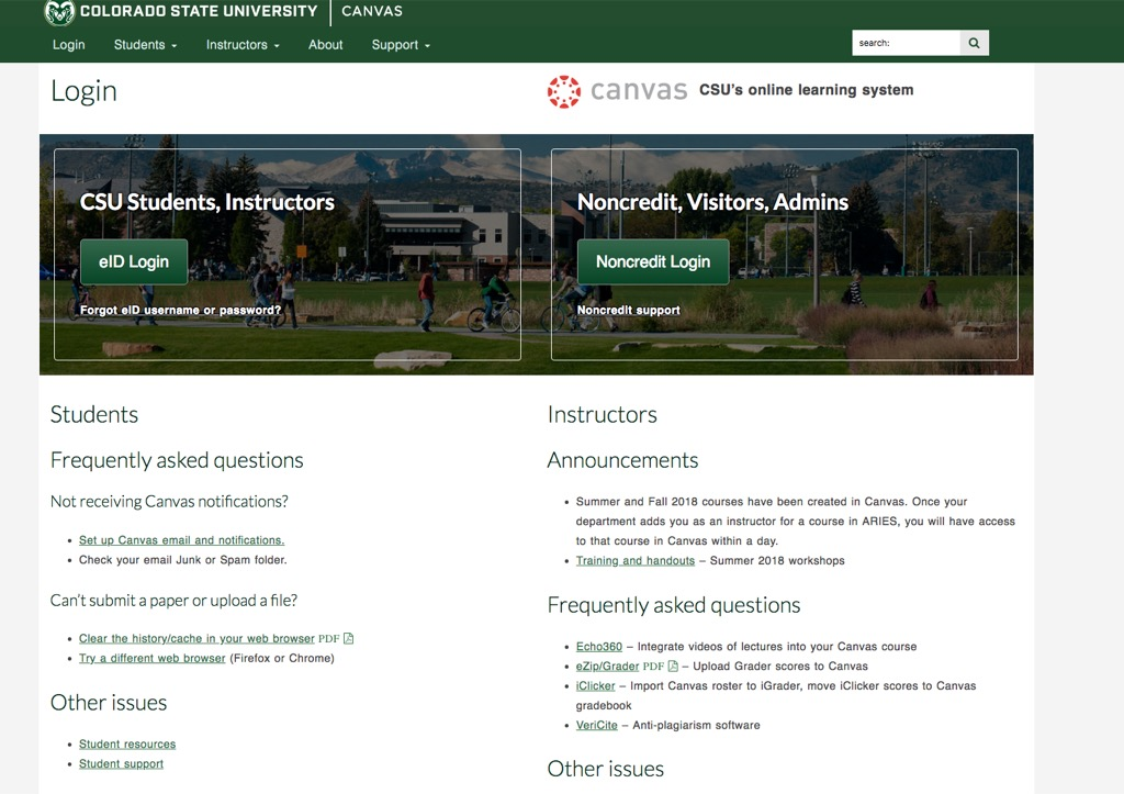 csu canvas most popular web search every state