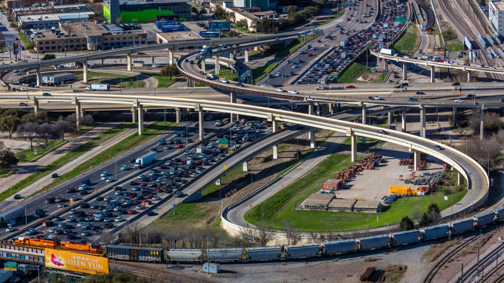 dallas tx worst cities to drive in