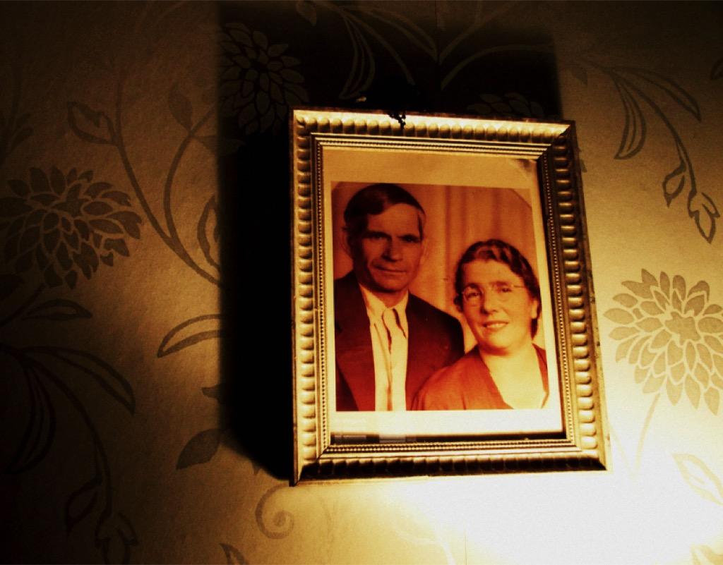 portrait of dead relatives