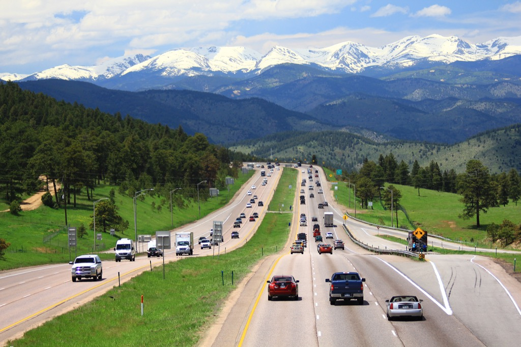 denver co worst cities to drive in