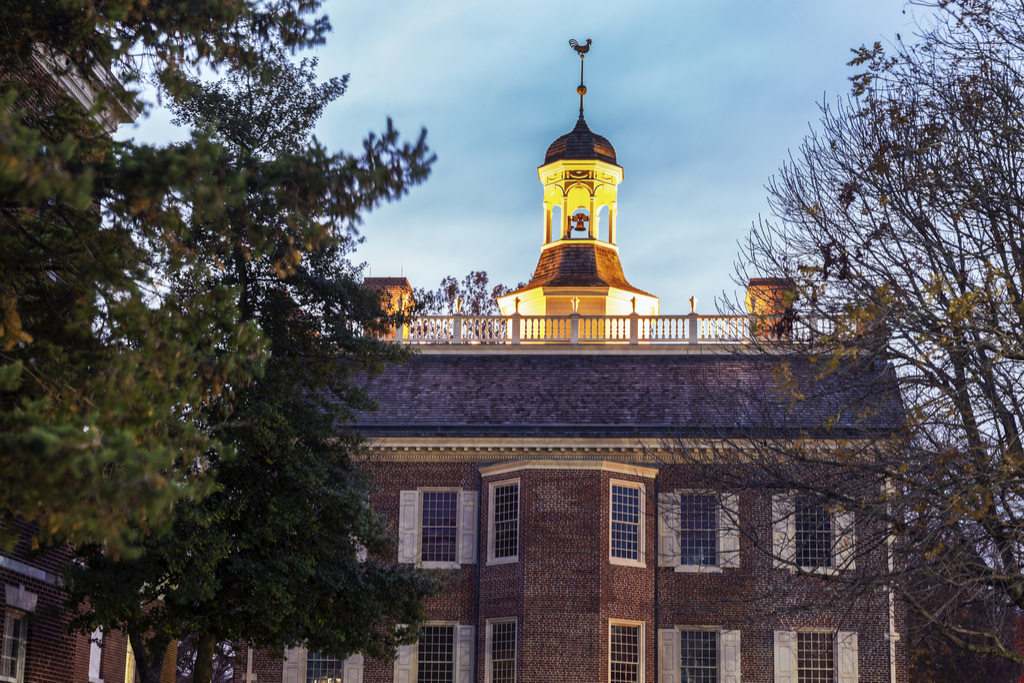 Dover, Delaware state capitol buildings