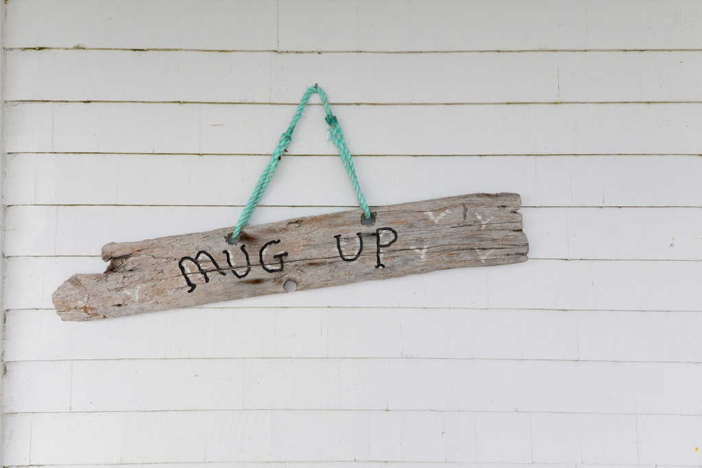 drift wood sign outdated home design
