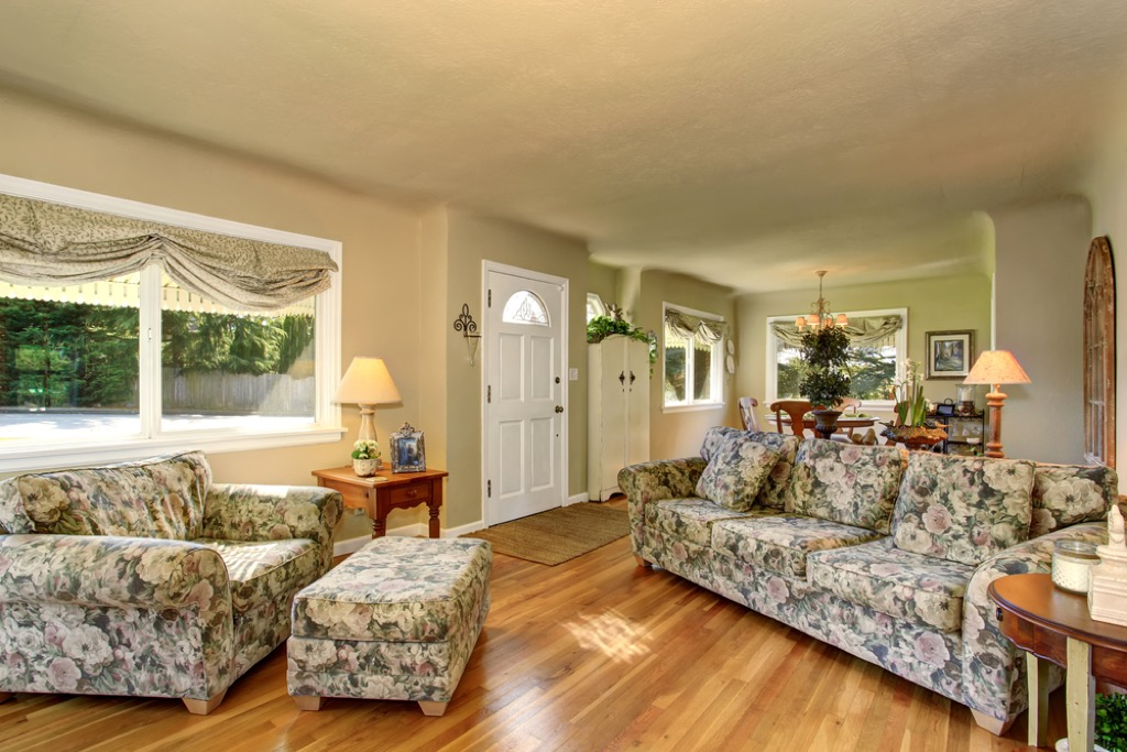 floral patterns outdated home design