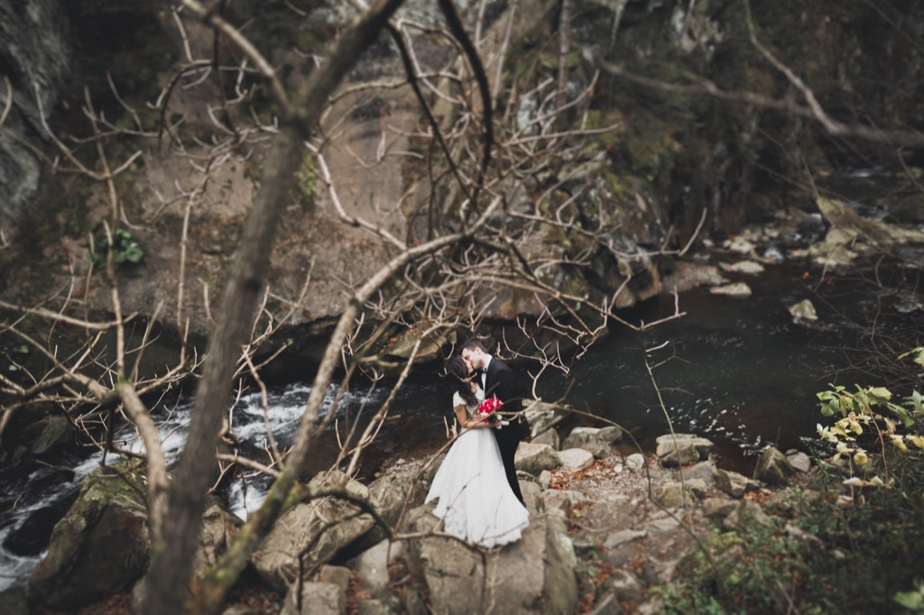 forest wedding this is the age most people get married in every US state