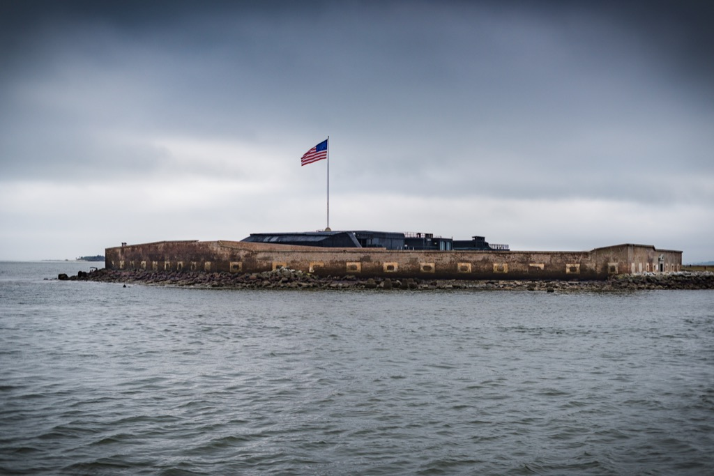 fort sumter most historic location every state