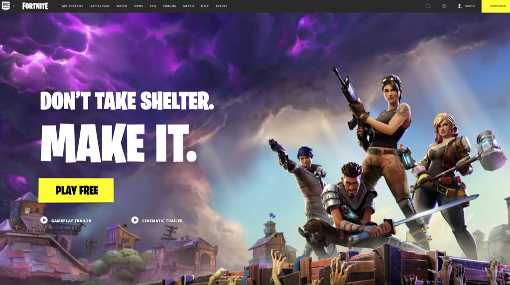 fortnite screenshot most popular web search every state