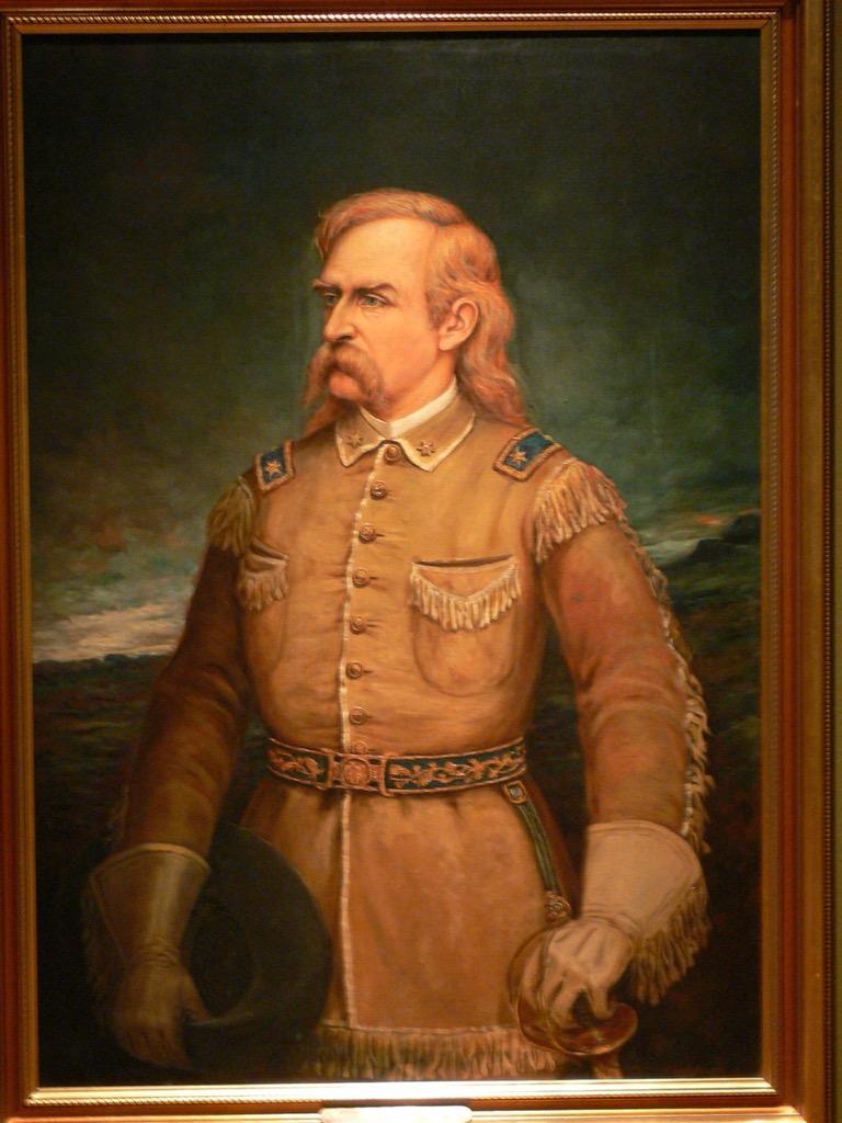 general custer the biggest folk hero every state
