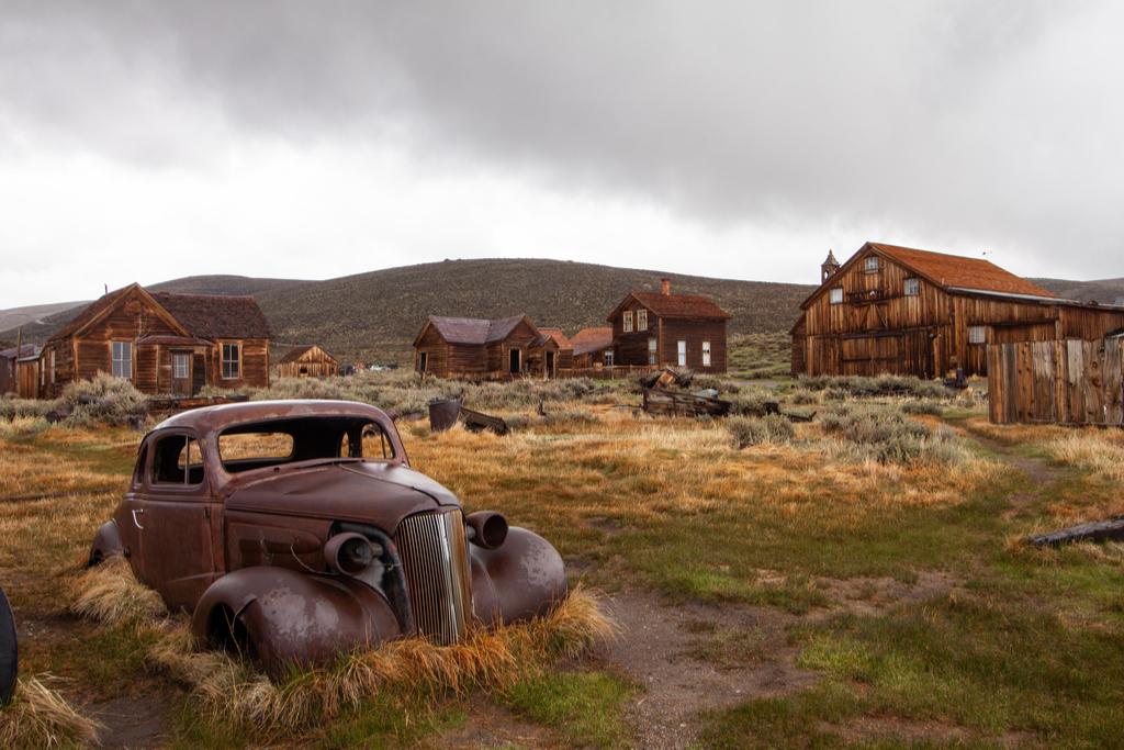 Ghost Town of Bodie, California Enchanting Hideaways in the U.S.
