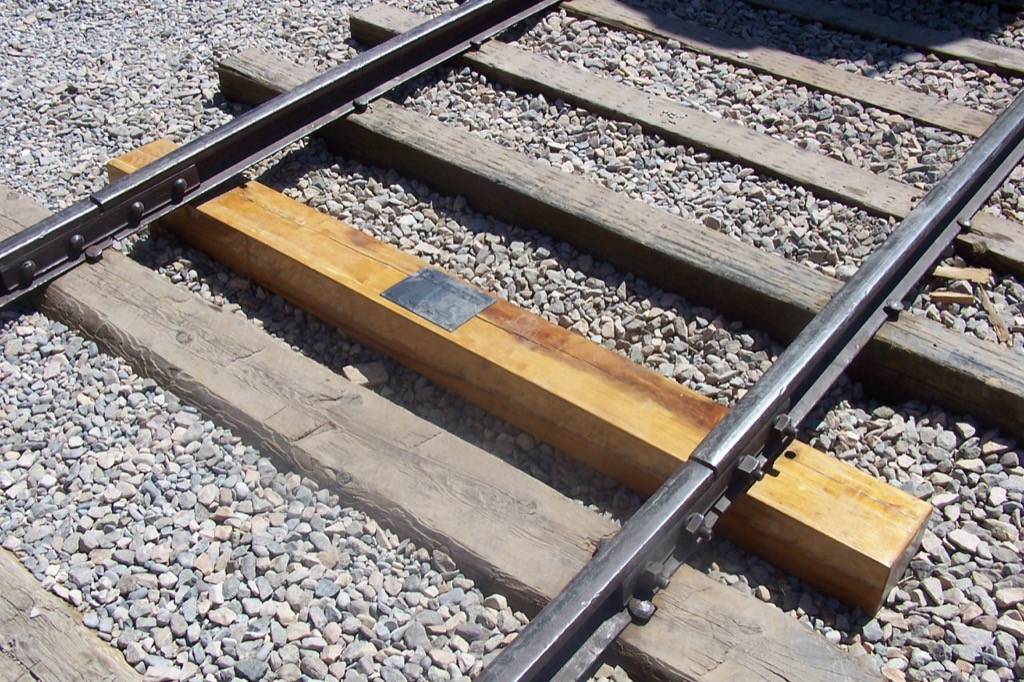 golden spike national historic site most historic location every state
