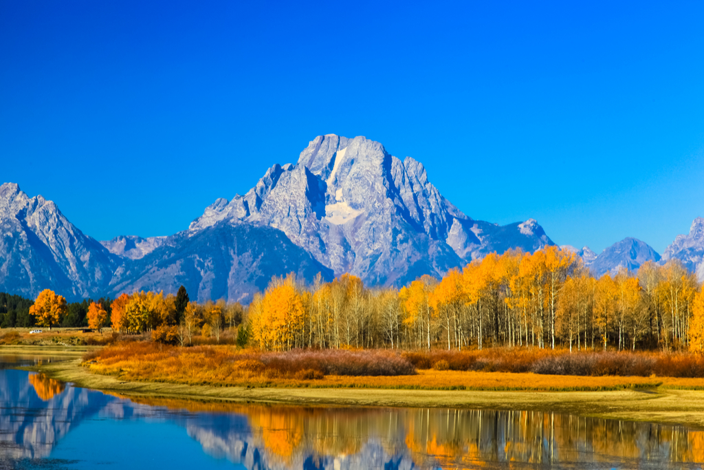 Grand Teton National Park Surreal Places in the U.S.