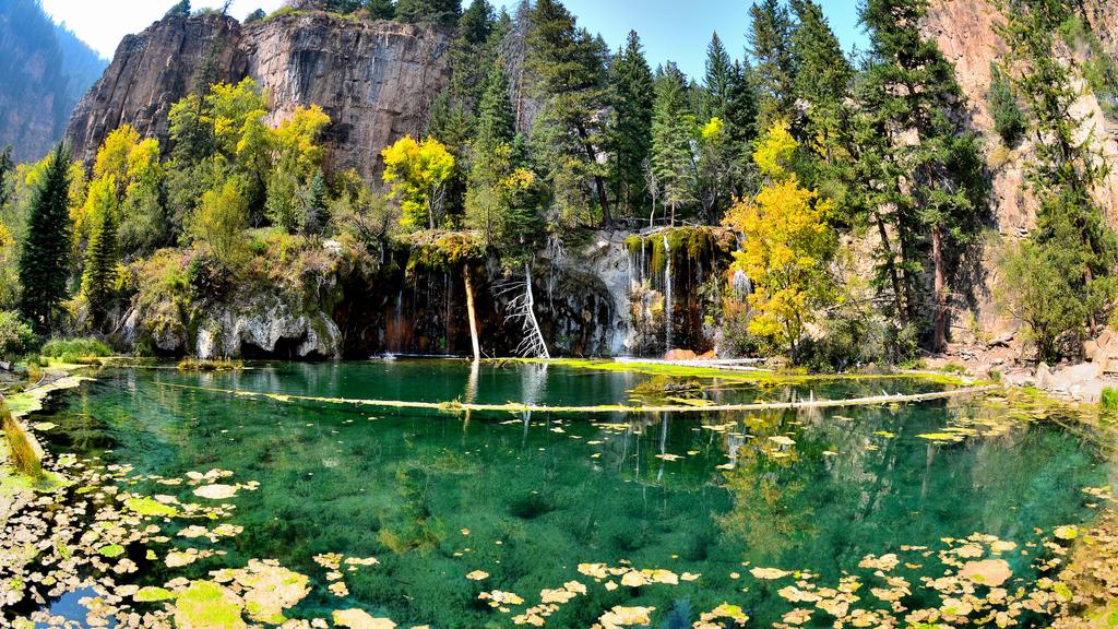Hanging Lake Colorado Enchanting Hideaways in the U.S., hard math problems